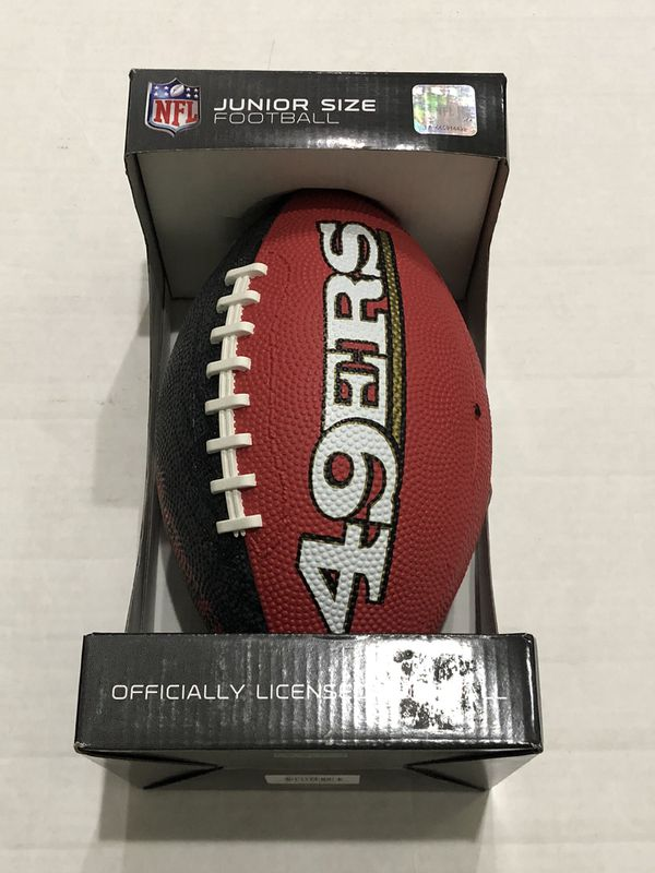 New San Francisco 49ers Gridiron Junior Size Football
