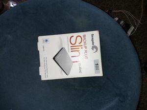 Backup plus slim for mac for Sale in Bedford, TX