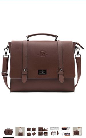 Laptop Bag,15.6 Inch Women Laptop Briefcases Business Laptop Shoulder Bags Structured Work Tote Bag with Professional Padded Compartment for Tablet N for Sale in Elkridge, MD