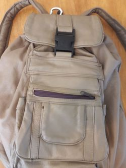 Large Leather Backpack for Sale in La Mirada,  CA