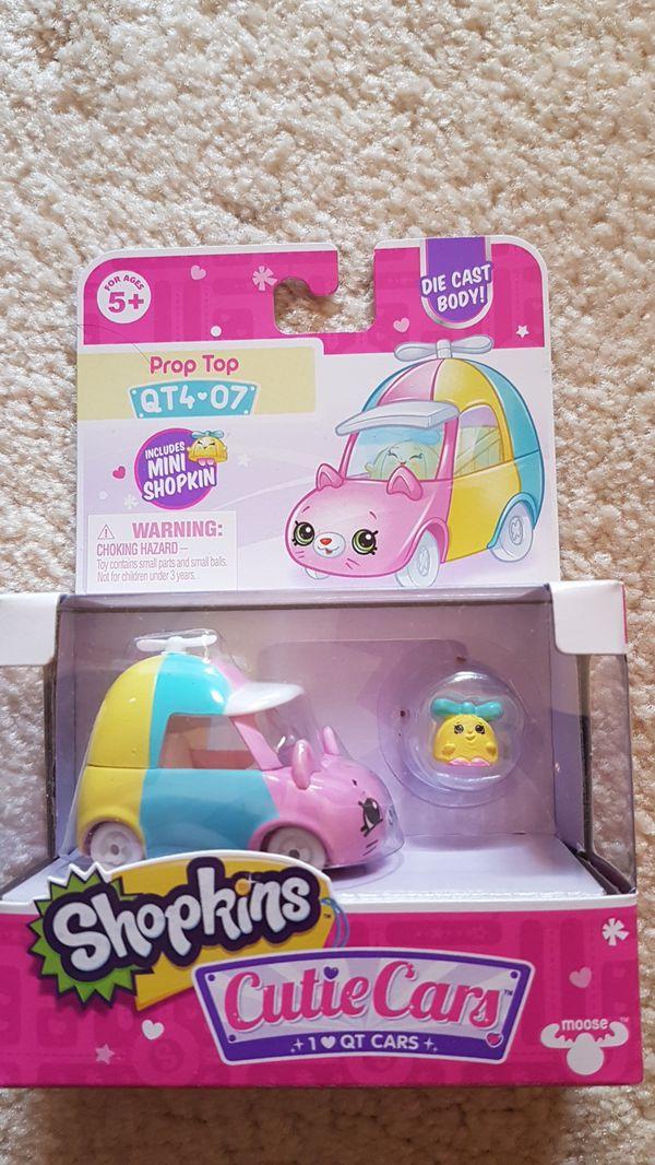 Shopkins cutie cars