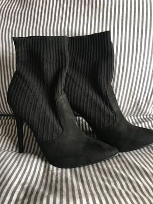 Just Fab - Black High Heel Booties Size 8.5 for Sale in Margate, FL