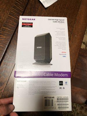 NETGEAR CM700 (32x8) DOCSIS 3.0 Gigabit Cable Modem for Sale in Chicago, IL