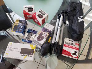 Dslr camera accessories for Sale in San Antonio, TX