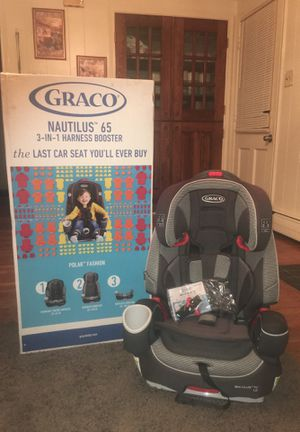 Graco Nautilus 65 , 3-in-1 Harness Booster Seat for Sale in Silver Spring, MD