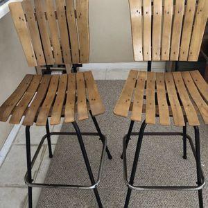Indoor Outdoor (2) Bar Stools for Sale in Encinitas, CA