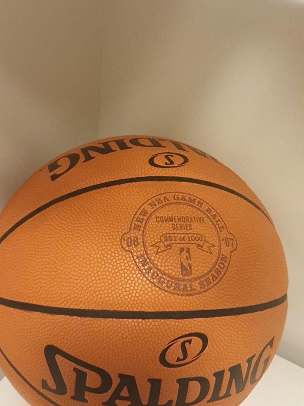 "Official Spalding 251/1000 Basketball ""New NBA Game Ball"" 2006-07 David J. Stern"