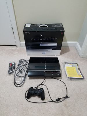 60GB Playstation 3 with Box for Sale in Fairfax, VA