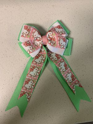 Homemade new hello kitty bows for girl for Sale in Norwalk, CA