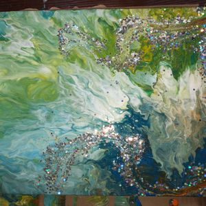 #acrylicpouring #pourart for Sale in Fort Pierce, FL