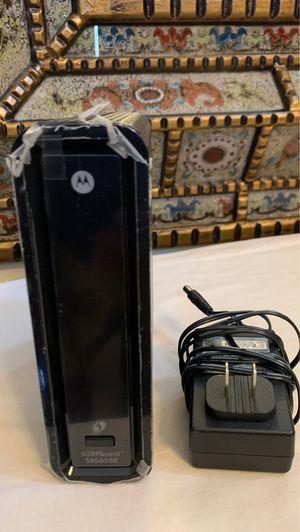 Motorola SBG6580 Internet Modem for Sale in El Cajon, CA