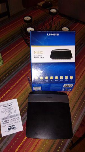 Linksys router for Sale in Phoenix, AZ