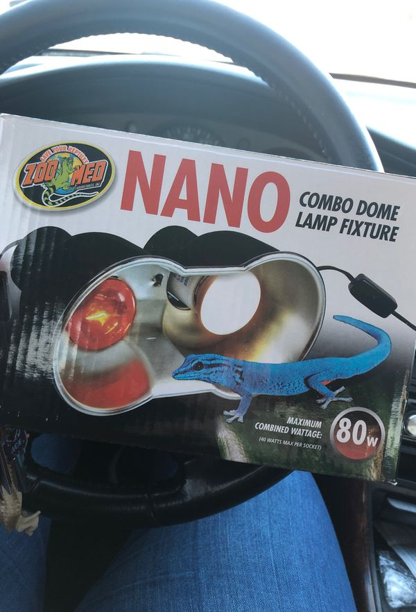 Nano Dual combo light fixture (does not include bulbs fixture only)