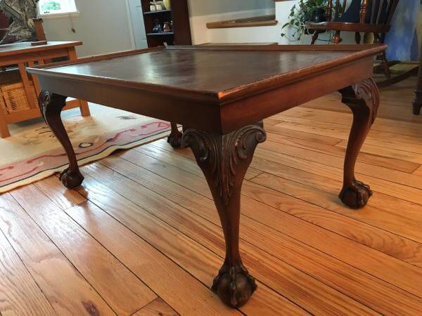 Antique Chippendale Mahogany Table