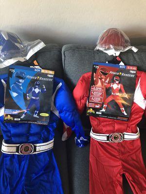 Power Ranger Costume Size 4-6 and 8-10 Brand New for Sale in Gilbert, AZ