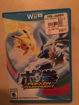 Nintendo Wii U Pokémon tournament for Sale in Visalia, CA