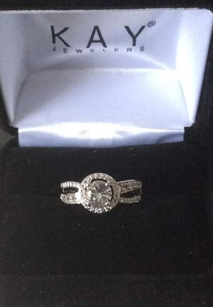 White sapphire ring for Sale in Purcellville, VA