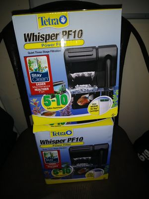 Tetra Whisper PF10 Power Filter for Sale in Albuquerque, NM