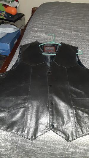 Leather Vest for Sale in Stockton, CA