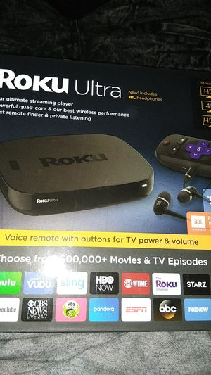 Roku Ultra 4K for Sale in Montgomery, AL