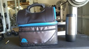 Igloo cooler lunch box and water bottle. used a couple times washed regularly for Sale in Waterford, CA