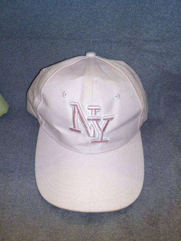 Pink NY Hat