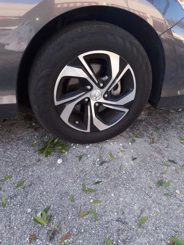 Rims with tire