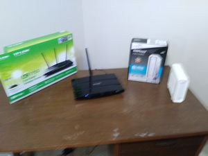 TP Link Router & Arris Modem for Sale in Allendale Charter Township, MI