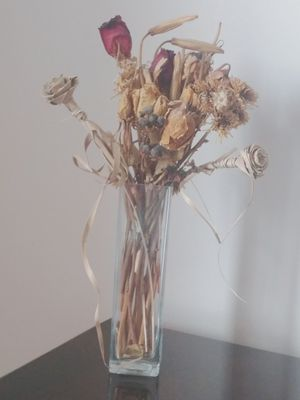 Vase and dried flowers for Sale in Rockville, MD