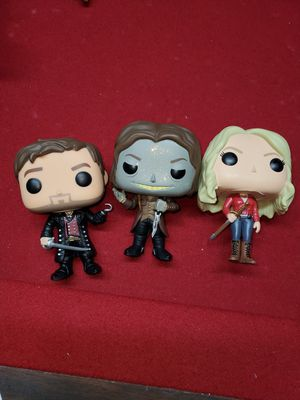 Once upon a time funko pops for Sale in Turlock, CA
