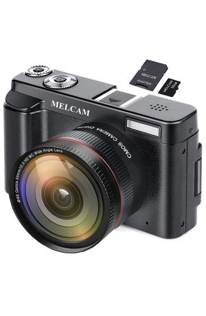 "Digital Video Camera Camcorder MELCAM Full HD 1080P 24.0MP YouTube Vlogging Camera with Wide Angle Lens, 3.0"" Screen, WiFi Function, Face Detection, for Sale in Fairfax, VA"
