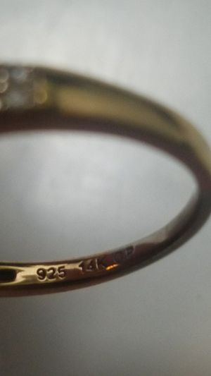 Real 14 carat rose gold and diamond ring for Sale in Beckley, WV