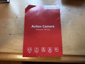 Action camera 720p Waterproof for Sale in Wakefield, MA