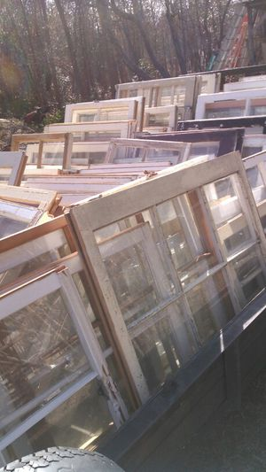 Old wood frame windows for Sale in Charlotte, NC