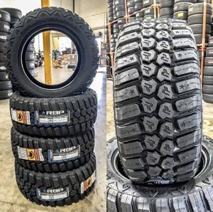 33/12.50R22 RBP off road tires (4 for $899) for Sale in Santa Fe Springs, CA