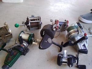 All sizes of different fishing reels for Sale in Hemet, CA
