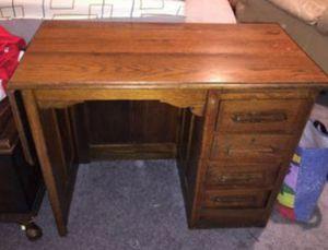 Antique Vintage Oak Child's Desk for Sale in Metairie, LA
