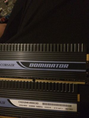 Corsair 4gb ram for Sale in Chicago, IL