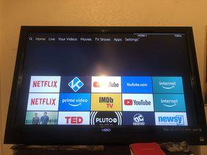 42inch Vizio Tv with (Amazaon stick) for Sale in Apple Valley, CA