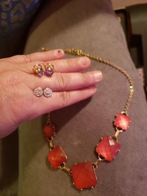 10 piece lot of fashion jewelry for Sale in Joint Base Lewis-McChord, WA
