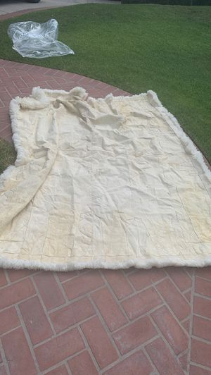 Blanket real leather for Sale in West Covina, CA