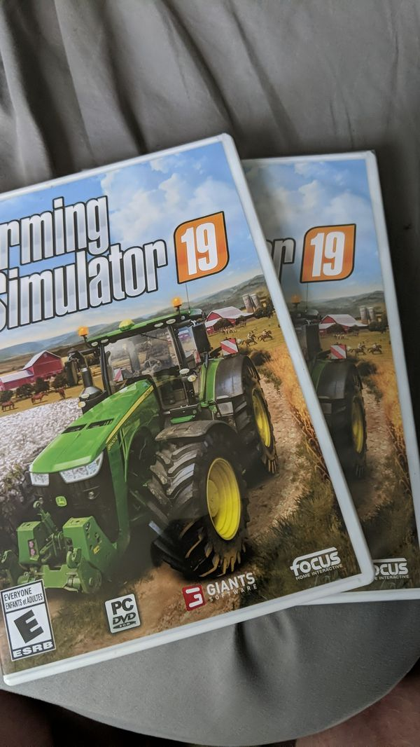 Farming Simulator 2019 for PC, Brand New, 2 Available!