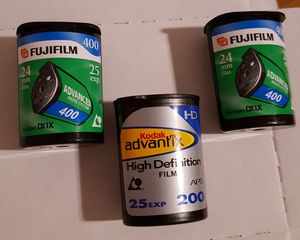 3 rolls exp APS film for Sale in CORP CHRISTI, TX