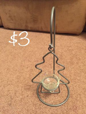 Christmas tree candle holder for Sale in Wichita, KS