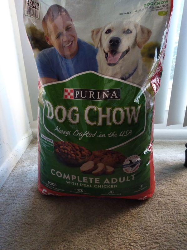 Dog Food and Blue buffalo treats