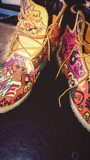 Custom Mac Miller Timberlands for Sale in Pittsburgh, PA