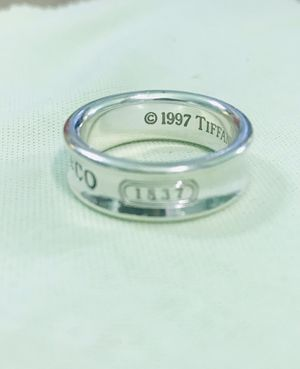 Ring silver Tiffany #7 for Sale in Piedmont, CA