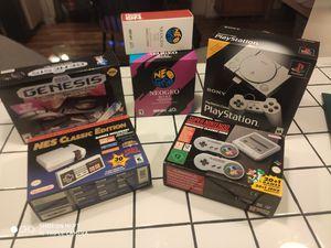 Retro Mini Console set for Sale in Seattle, WA
