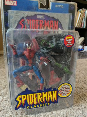 Marvel legends toy biz Spider-Man classic for Sale in Houston, TX