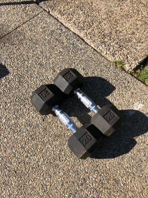 20 lb set of hand weights for Sale in Vista, CA